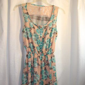 Flower Printed Dress